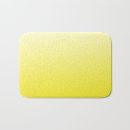 Simply sun yellow color gradient - Mix and Match with Simplicity of Life Bath Mat