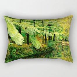 Autumn in the park Rectangular Pillow