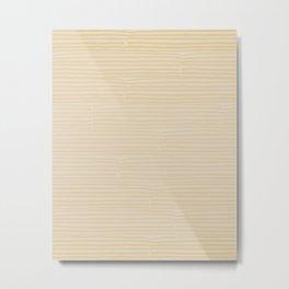 hand drawn light lines – sun wash Metal Print