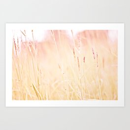 This is pink Art Print