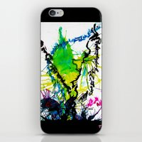 writing iPhone & iPod Skins featuring Secret Writing by Martha Calderon