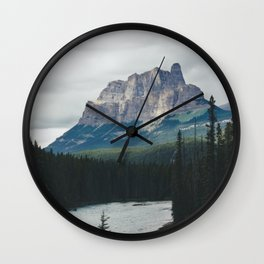 Above the Tree Line Wall Clock