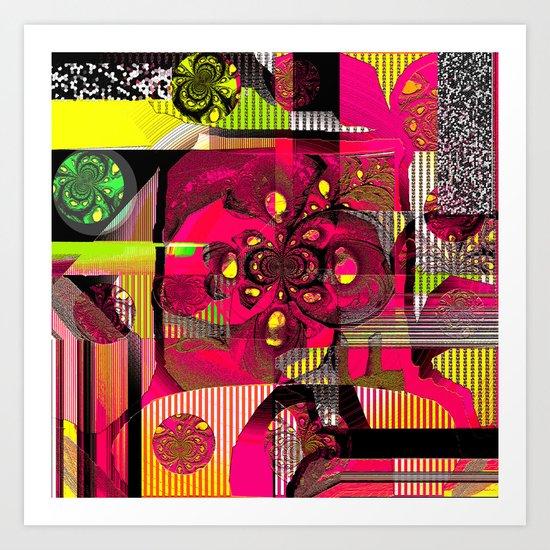 EclecticoII Art Print