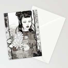 the frog princess Stationery Cards