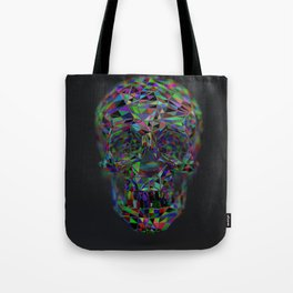 Skull Low-Poly Color Tote Bag
