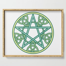 Celtic Pentacle Serving Tray