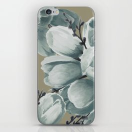 Spring Tulips Neutral  iPhone Skin