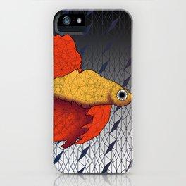 Beta Fish - Panel A iPhone Case