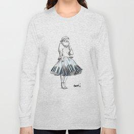 midi skirts Long Sleeve T-shirt