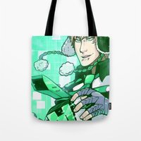 dmmd Tote Bags featuring LET'S PLAY by IdentityPollution