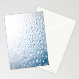 Colorful liquid droplets background wallpaper Stationery Cards