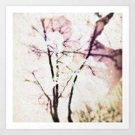 tree and leaf Art Print