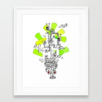 "1984 Framed Art Prints featuring ""1984"" by Slight Gallery - Sightly Art for Sale"