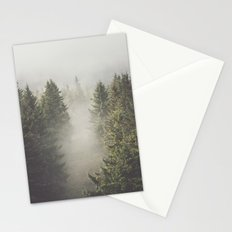 My misty way Stationery Cards