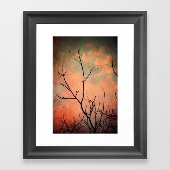 Upon Dawn Framed Art Print