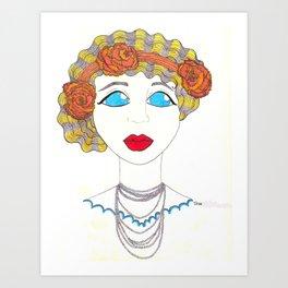 Nicky Art Print