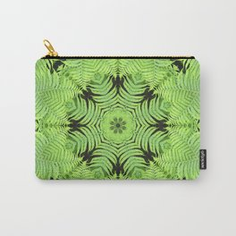 Fern frond fantasy kaleidoscope Carry-All Pouch