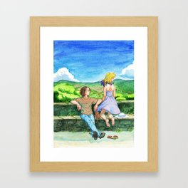 View from Cordes Framed Art Print