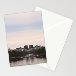 Ottawa reflection Stationery Cards