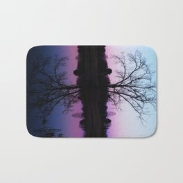 purple dawn I Bath Mat