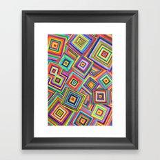 infinite square Framed Art Print