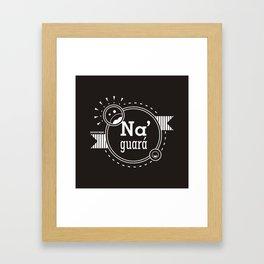 Na' Guará Framed Art Print