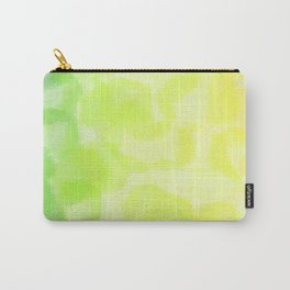 green and yellow colorful round circle dots Carry-All Pouch