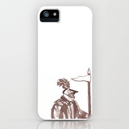 The Brown Knight iPhone Case