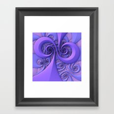 I Saw the Wind Today Framed Art Print