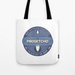"""Vad blir det för mord? - """"Prosetcho"""" Tote Bag"""
