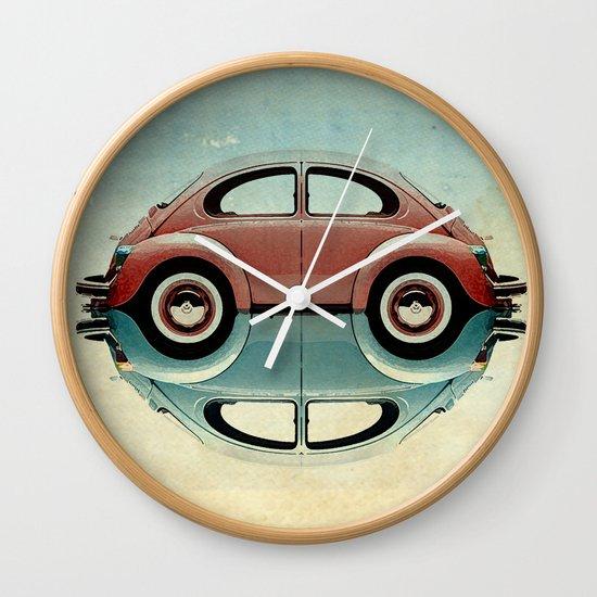 4 speed Bug Wall Clock