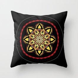 'Eye Have You' Mandala Throw Pillow