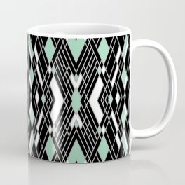 Art Deco Mint Coffee Mug