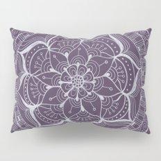 Violet Flower Pillow Sham