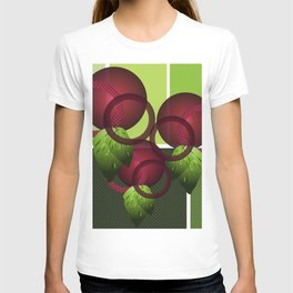 Raspberry with Basil II T-shirt