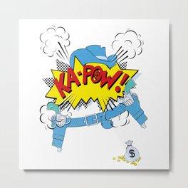 Ka-Pow Boy! Metal Print