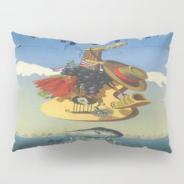 Vintage poster - Chile Pillow Sham