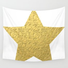 golden star Wall Tapestry