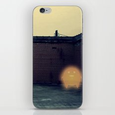 Lonely with Bricks iPhone & iPod Skin