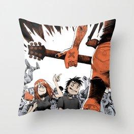 Vegan HxC Throw Pillow