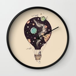Interstellar Journey Wall Clock