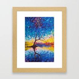 Wanaka Tree Framed Art Print
