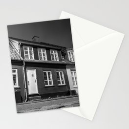 Charming houses, Aarhus Stationery Cards