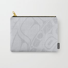 Salmon Grey Lund Carry-All Pouch