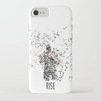 bane iPhone & iPod Cases featuring Bane by justjeff