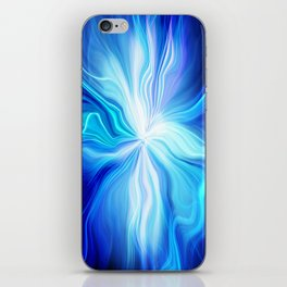 electricity iPhone Skin