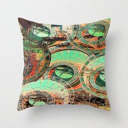 Chronos Throw Pillow