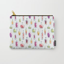 Watercolor Bottles Carry-All Pouch