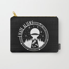 I Love Aliens Carry-All Pouch