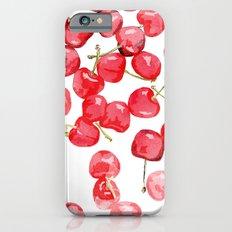 Cherry pies iPhone 6s Slim Case